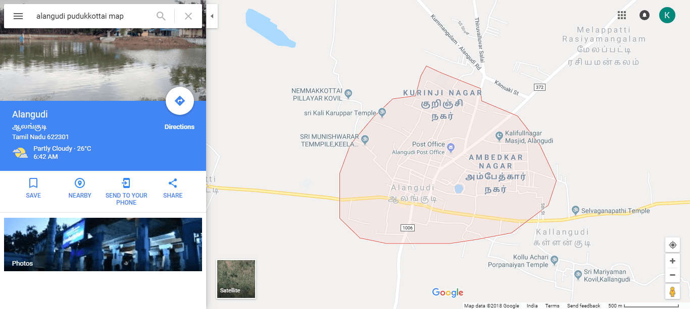 alangudi-pudukkottai-map