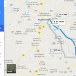 Pudukkottai To Aranthangi Road Map