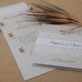 Choosing wedding invitations