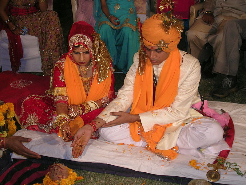 Origin of some wedding traditions